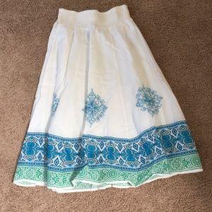 A women's small petite skirt